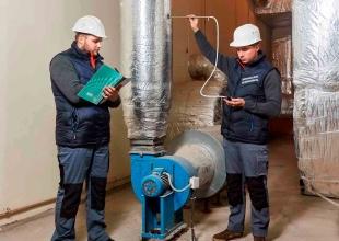 Испытания систем вентиляции с механическим побуждением